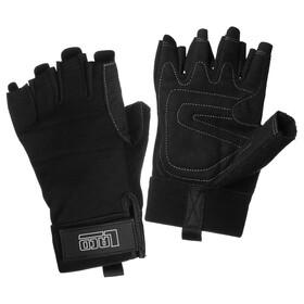LACD Pro - Gants demi-doigts - noir